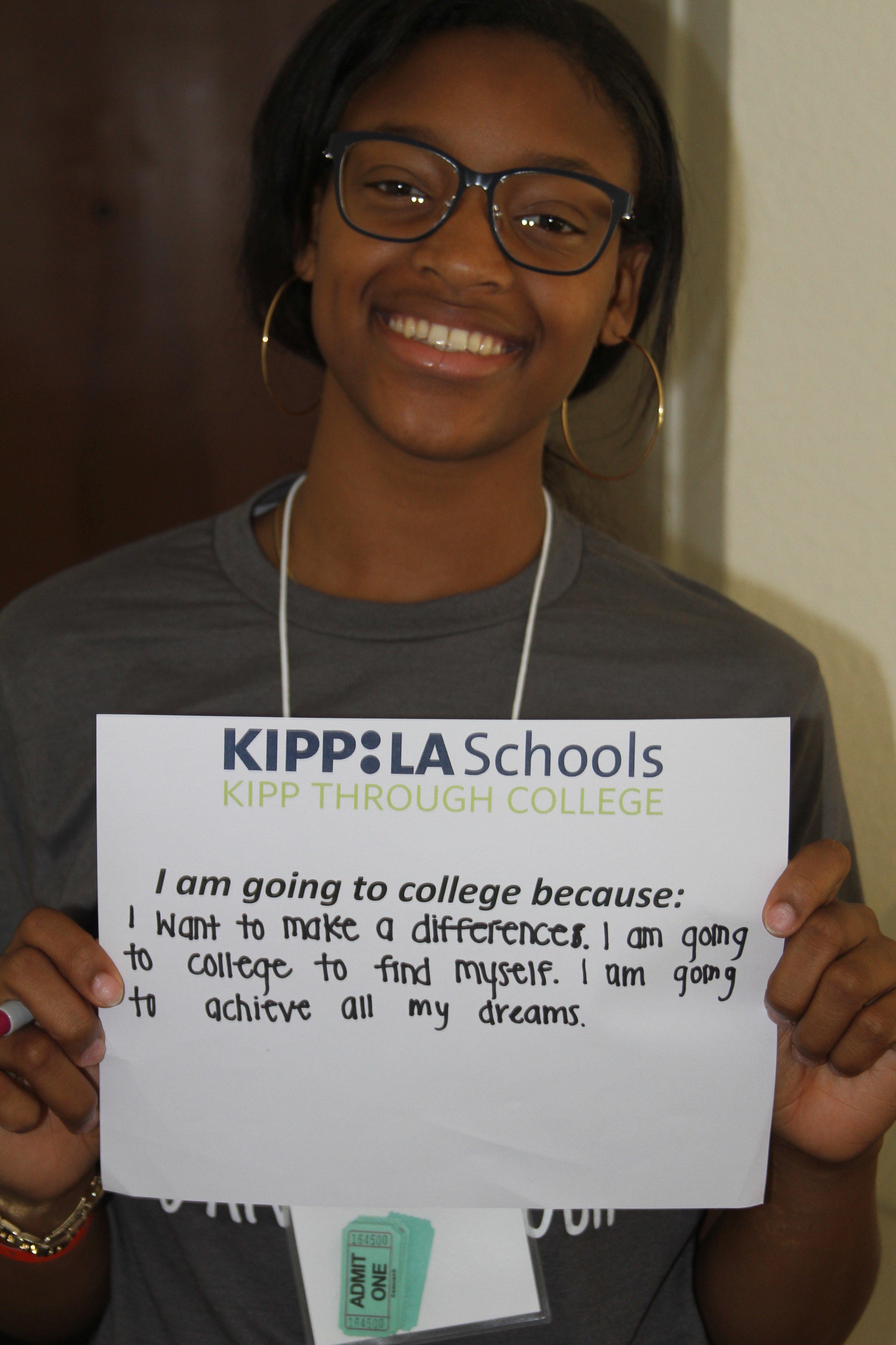 KIPP LA Alumna Asia Oliver