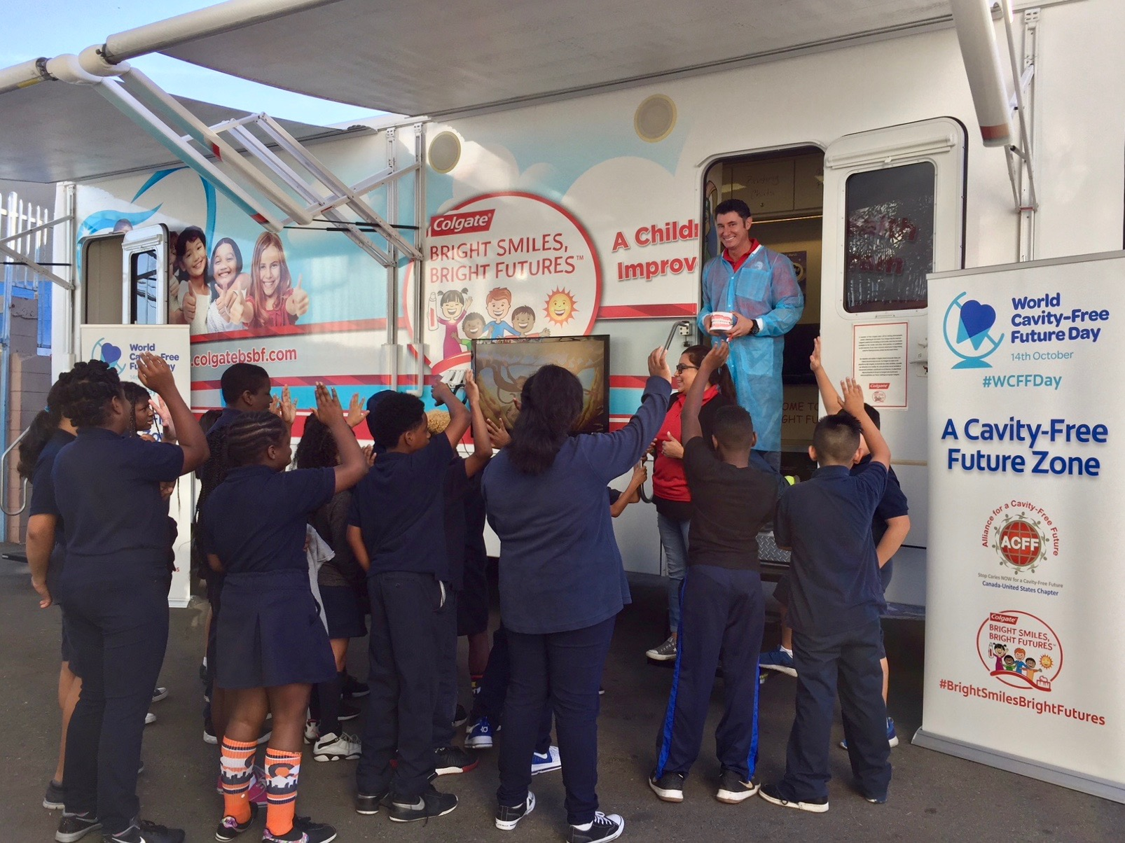 Colgate Comes to KIPP For World Cavity-Free Future Day